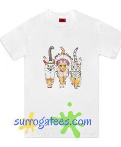 3 Indian Cats T-Shirt