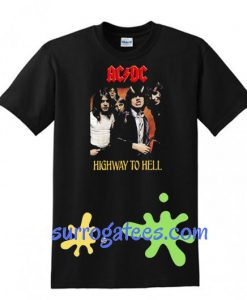 ACDC Highway To Hell T Shirt