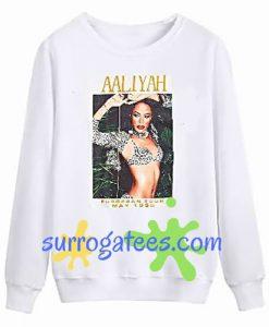 Aaliyah Tour 1995 Sweatshirt