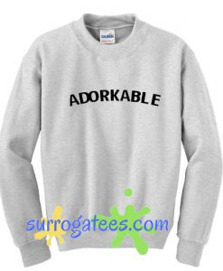Adorkable sweatshirt
