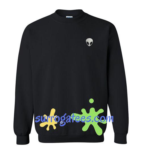 Alien Sweatshirt Gift sweater adult unisex cool tee