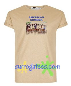 American Summer T Shirt gift tees unisex adult cool tee shirts