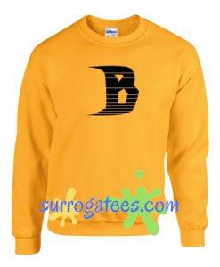 B Font Sweatshirt