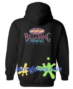 Billabong Since 1973 Australia Back Hoodie sweater custom clothing