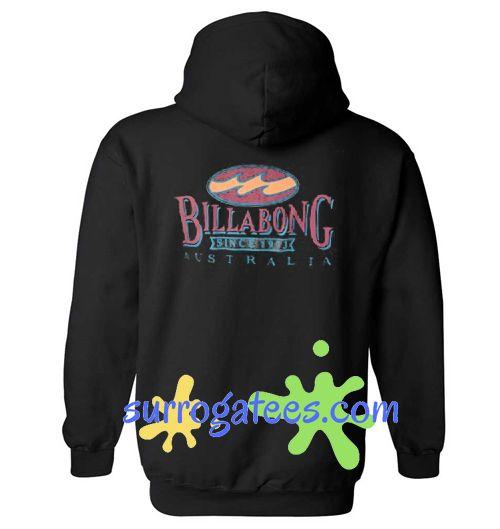 Billabong Since 1973 Australia Back Hoodie sweater custom clothing