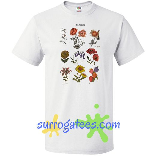 Blooms Flowers T shirt