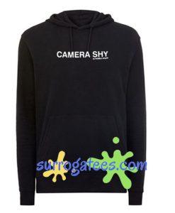 CAMERA SHY Hoodie sweater custom clothing