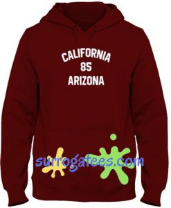 California 85 Arizona Hoodie sweater custom clothing