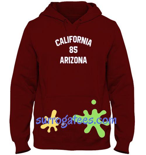 California 85 Arizona Hoodie sweater custom clothing