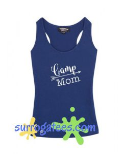 Camp mom graphic t-shirt tank top - camp counselor shirt
