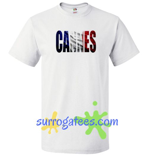Cannes T Shirt gift tees unisex adult cool tee shirts