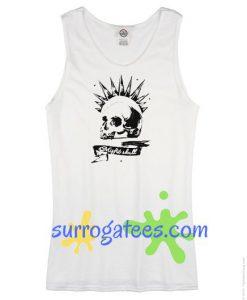 Chloe Price Tanktop cosplay sleeveless shirt Misfit Skull Tank top Racerback tank