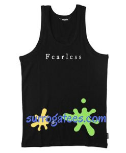 Fearless Tanktop gift tanktop shirt unisex custom clothing
