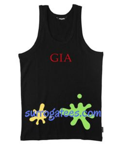 Gia Font Tank Top unisex custom clothing