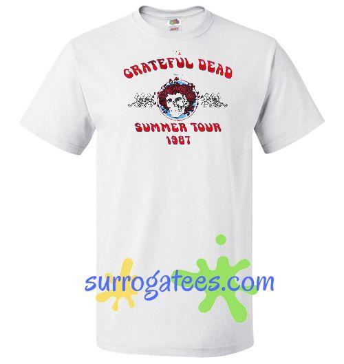 fb680801ae04 Grateful Dead Summer Tour 1987 Shirt
