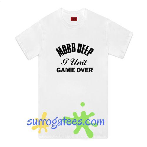 Mobb Deep G-Unit Game Over Black Logo Shirt