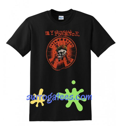 My Chemical Romance Rock Band T shirt