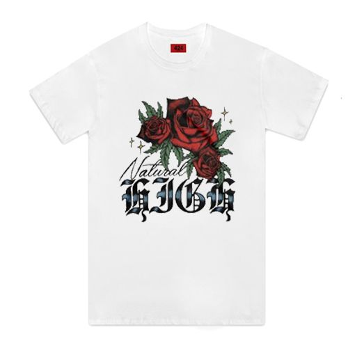 Natural High Rosebud T-Shirt