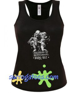 Old Horror Film- Creature From the Black Lagoon Dark Ale Tank Top
