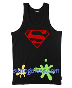 Superman Logo Tank Top