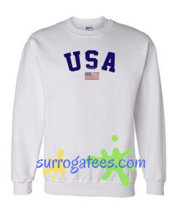 USA Flag United States Sweatshirt