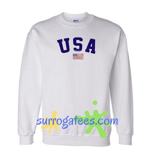 USA Flag United States Sweatshirt