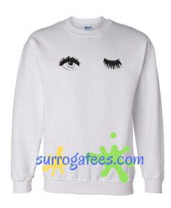 Wink Eyes Sweatshirt