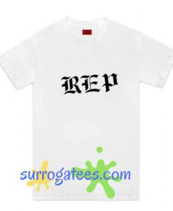 Youth White New Taylor Swift Reputation REP Only Graphic T-Shirt