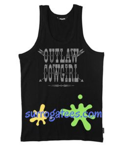 outlaw cowgirl tank top