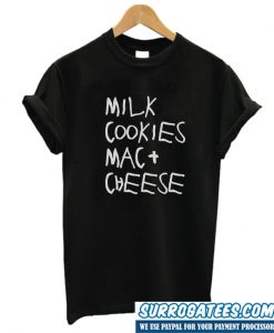 Milk Cookies mac And Cheeese T Shirt