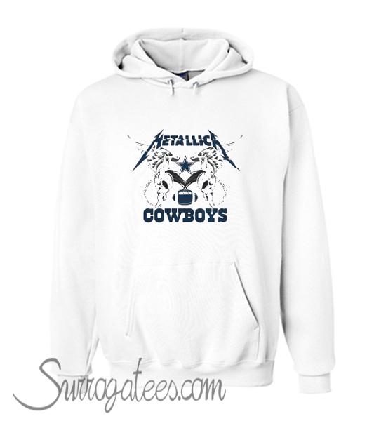 the best attitude 35972 6463a Metallica Dallas Cowboys Hoodie