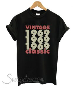 1969 – 2019 50 Years Perfect matching T-Shirt