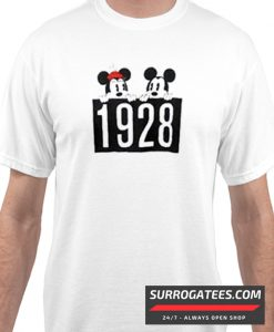 1928 Mickey and Minnie Mouse matching T-Shirt