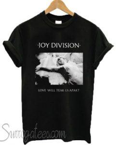 Joy Division Love Will Tear Us Apart matching T-shirt