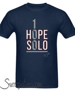1 Hope Solo matching T shirt