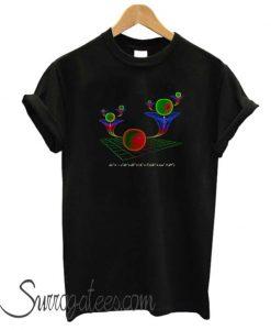 WORMHOLES matching t-shirt
