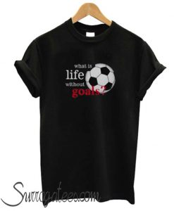 What is Life Without Goals Soccer matching T Shirt