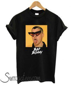 Bad Bunny Tongue matching T-Shirt