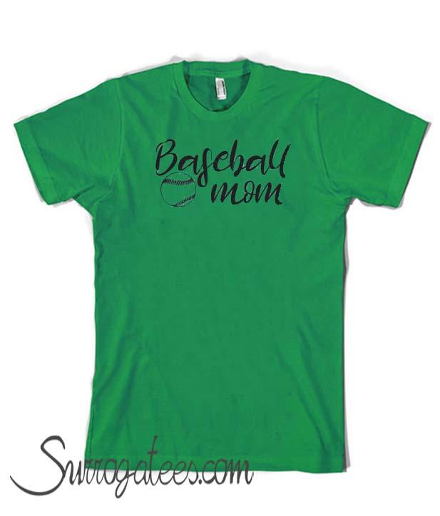 4d73a82712fb2 Baseball Mom Comfort Color matching matching T-Shirt