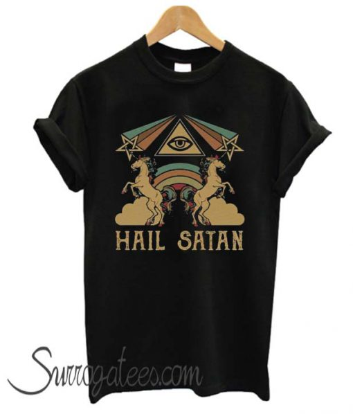 Hail Satan matching T-Shirt
