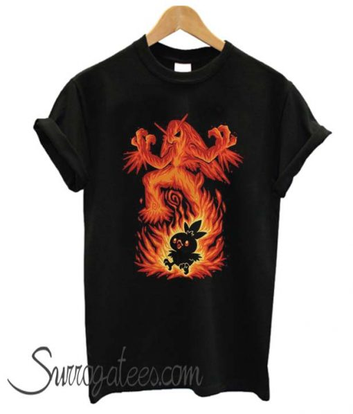 The Fire Bird Within matching T SHirt