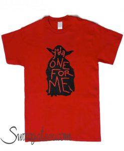 Yoda One For Me matching T Shirt