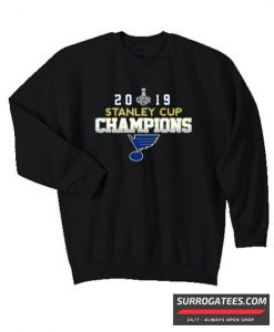 2019 Stanley Cup Champions St Louis Blues matching Sweatshirt