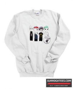 5 seconds of summer shirt matching Sweatshirt