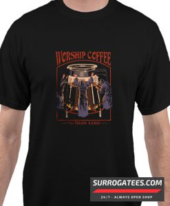 Worship Coffee matching t- Shirt