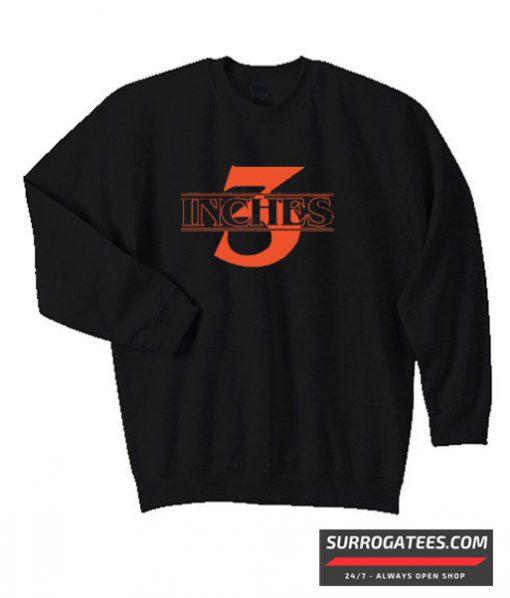 3 Inches Stranger Things Matching Sweatshirt