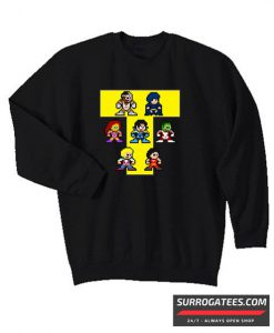 8-Bit NEW TEEN TITANS Matching Sweatshirt