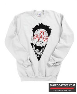 21 Savage Graphic Matching Sweatshirt