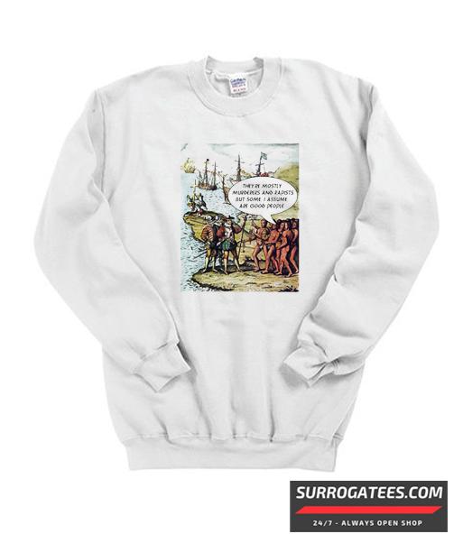 Anti trump illegal immigration matching sweatshirt