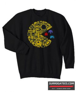 Video gamers classic vintage controller gamer Matching Sweatshirt